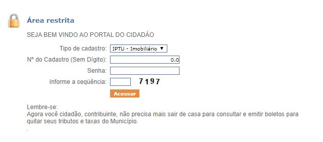 2ª Via do IPTU Ananindeua 2021