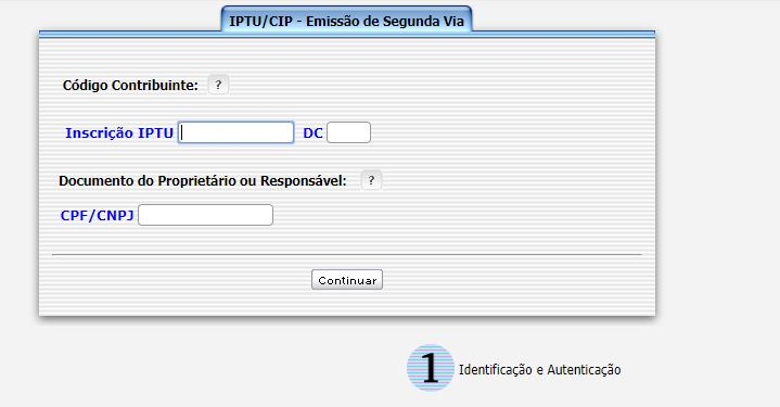 Emissão da 2ª Via do IPTU Mogi das Cruzes