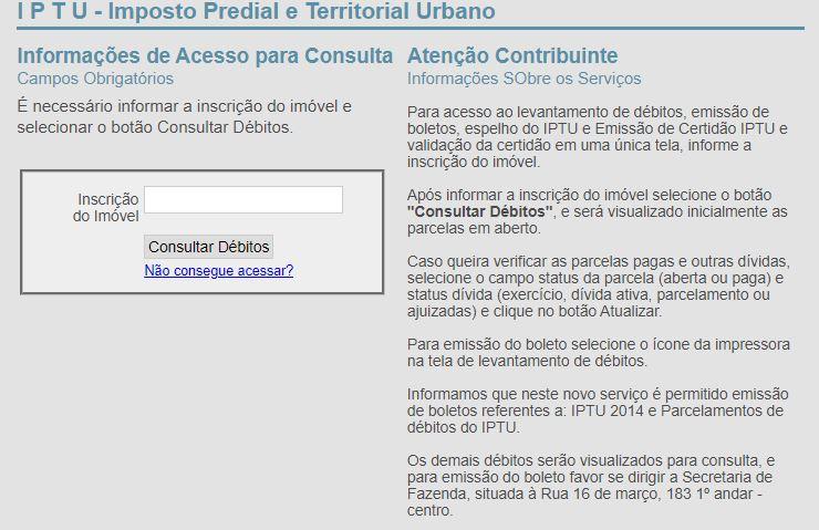 Emitir a 2ª Via do IPTU Petrópolis 2021