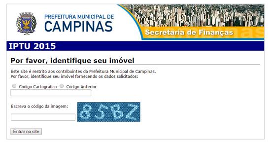 IPTU 2021 Campinas