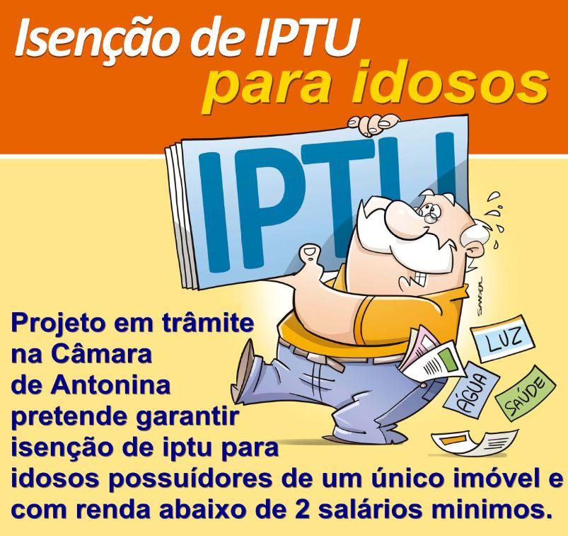 Isenção de IPTU 2021